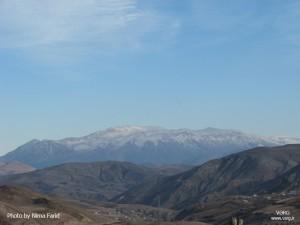 نمایی از جبههی جنوبی سماموس، از جادهی آسیابر به دیلمان، ماه آذر