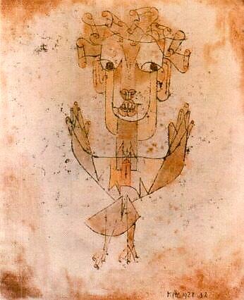 فرشتهی نو (اثر Paul Klee)