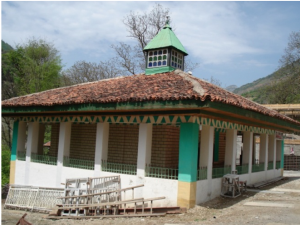 مسجد بازسازی شدهی منسوب به ناصرکبیر در روستای رودبارک درهی پلرود