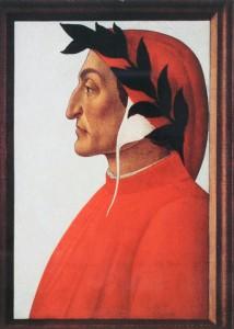 Sandro Botticelli Porträt des Dante Alighieri, 1495