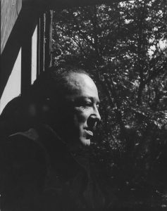 The poet Langston Hughes - Photograph by Robert W. Kelley